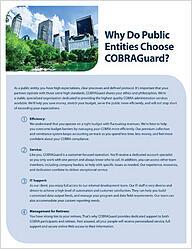 Why Do Public Entities Choose COBRAGuard  t
